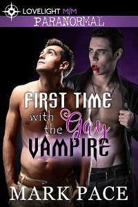 Gay Vampire Romance Book Cover